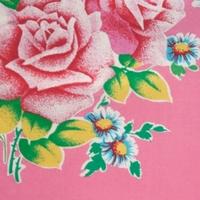 Coupon Petit Pan enduit Grande Pivoine rose 70 x 50 cm