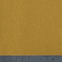Jersey 100% coton moutarde 20 x 140 cm