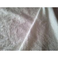 Taffetas froissé princesse blanc cassé, 20 x 140 cm, idéal pour robe de princesse