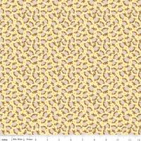 DERNIER COUPON Tissu Singes 120 cm x 110 cm