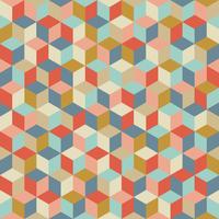 Tissu cubes coloris Cocktail émaillé par Aime comme Marie, 20x140 cm