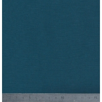 Jersey 100% coton bleu pétrole 20 x 140 cm