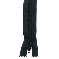Zip noir 20 cm