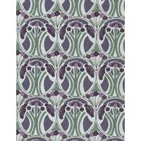 Liberty Mauverina bleu et violet coloris E 20 x 137 cm