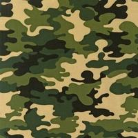 Tissu enduit Kaufman Camouflage Army 20x150 cm