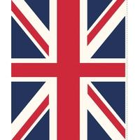 Panneau Union Jack 60 x 110 cm