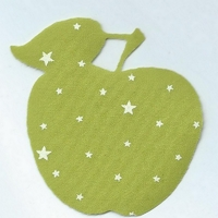 Motif thermocollant pomme coloris Granny