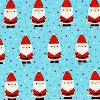 Tissu Candy Claus Papa Noël 20 x 110 cm