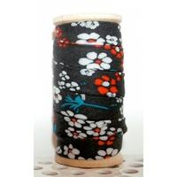 Biais Hanako noir 50 cm
