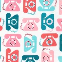 Tissu This and That téléphones coloris sweet 20 x 110 cm