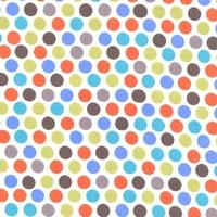 Tissu Diddly dot coloris dirt 20 x 110 cm