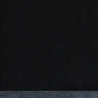 Viscose épaisse unie noire 20 x 140 cm