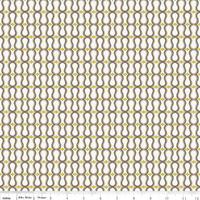 Tissu Unforgettable vagues rétro taupe 20 x 110 cm