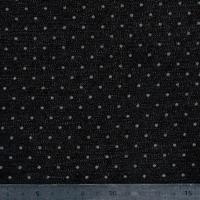 Jean denim pois fond noir 20 x 150 cm