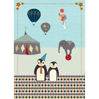 Kit à coudre Plaid Circus par Georges et Rosalie
