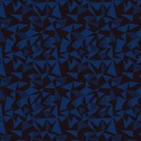 Viscose Facet bleu et noir 20 x 140 cm