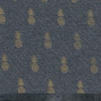 A nana's fabric, molleton gris, 20 x 140 cm