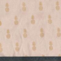A nana's fabric GOLD, poly/coton nude 20 x 140 cm