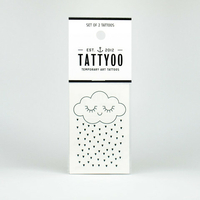 2 planches de tatouages Tenderness Cloud by Zü