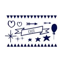 2 planches de tatouages Un Beau Jour by Unbeaujour.fr