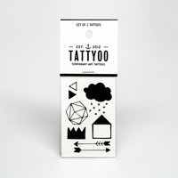 2 planches de tatouages Home Sweet Home by Jessica Martinato
