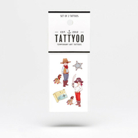2 planches de tatouages Ellis & Easy by Belle and Boo