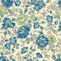 Liberty Félicité bleu vert coloris B 20 x 137 cm