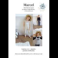Patron Marcel par Maïa Perrotte Salesse, du 18 mois au 5 ans