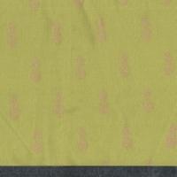 Coupon de poly/coton A nana's fabriic coloris fenouil 40 x 140 cm