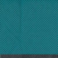 Tissu Première étoile ministar imprimé noir coloris émeraude 1m x 140 cm