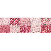 Coupon Méli-Mélo sirop de fraise, 40 x 140 cm