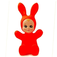 Lampe Lapin & Me Baby Bunny rouge