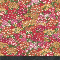 Liberty  Garden Wonderland rouge coloris D 20 X 137