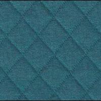 Jersey matelassé FDS bleu canard 20 x 130 cm