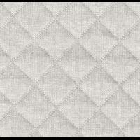 Jersey matelassé FDS brume 20 x 130 cm