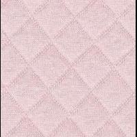Jersey matelassé FDS rose pâle 20 x 130 cm