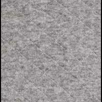 Jersey matelassé FDS gris chiné 20 x 180 cm
