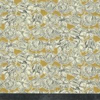Liberty Matilda Tulip fond jaune coloris D 20 x 137 cm