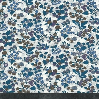 Liberty Nancy Ann bleu coloris F 20 x 137 cm
