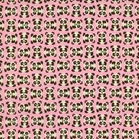 Tissu Mini pandas 20 x 110 cm