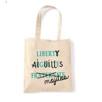 """Cabas """"Liberty Aiguilles Mojitos"""""""