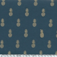 A nana's fabric, jersey viscose gris ardoise, 20 x 140 cm