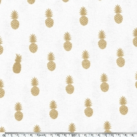 A nana's fabric, jersey viscose blanc, 20 x 140 cm