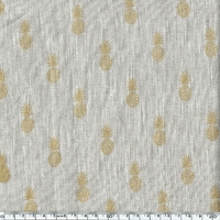COUPON de Lin irisé A nana's fabric 1m50 x 140 cm