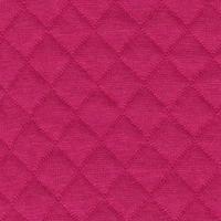 Jersey matelassé FDS fuchsia 20 x 130 cm