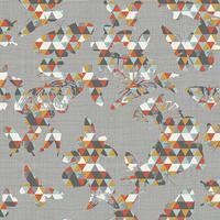 DERNIER COUPON Jersey Flutter Folds Spark 40 x 150 cm