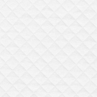 Jersey matelassé FDS blanc 20 x 130 cm