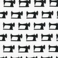 Tissu Mini machines à coudre 20 x 110 cm