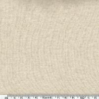 DERNIER COUPON  Jersey 100% coton vanille 190 x 140 cm