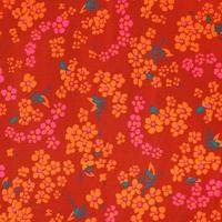 Coupon Petit Pan enduit Hanako rouge 70 x 50 cm